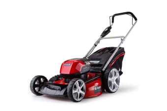 NEW BAUMR-AG 58V Lawn Mower 20' Cordless Lawnmower Lithium Battery Electric