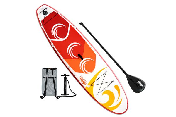 Weisshorn 10FT Stand Up Wide Paddle Board (Green)