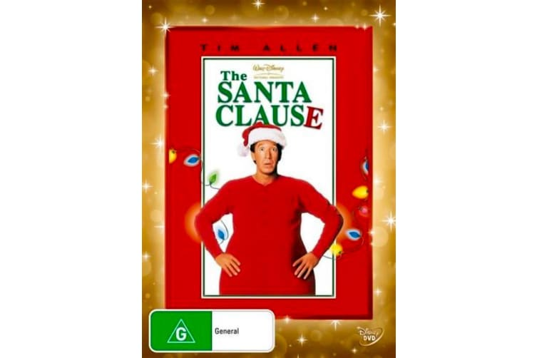The Santa Clause -Comedy Rare- Aus Stock DVD PREOWNED: DISC LIKE NEW