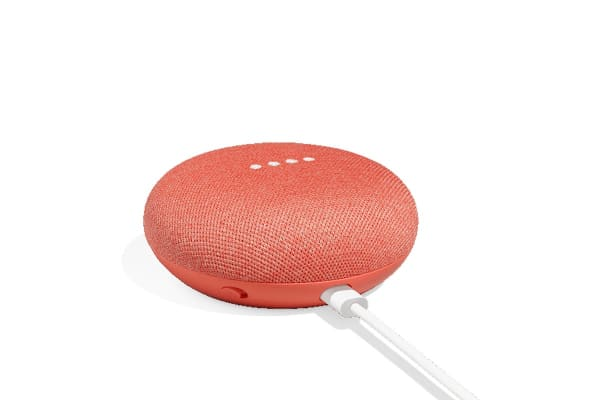 Google Home Mini (Coral) - 3 Pack