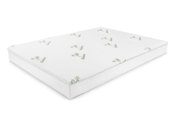 Ovela Bamboo Memory Foam Mattress Topper Queen Kogancom