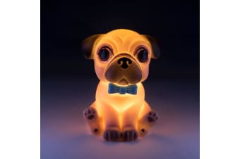 Mini Led Light Pug Night Light Bedroom Table Home Decor