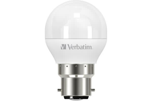 Verbatim B22 Mini Globe 6.2W Dimmable