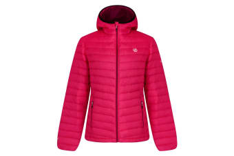 Dare 2B Womens/Ladies Elative Down Fill Insualted Jacket (Cyber Pink) (10 UK)