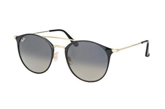Ray-Ban RB3546 - Gold Black (Crystal Grey Shaded lens) / 52--20--145 Unisex Sunglasses