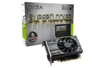 EVGA GeForce GTX1050 Graphics Card SC Version