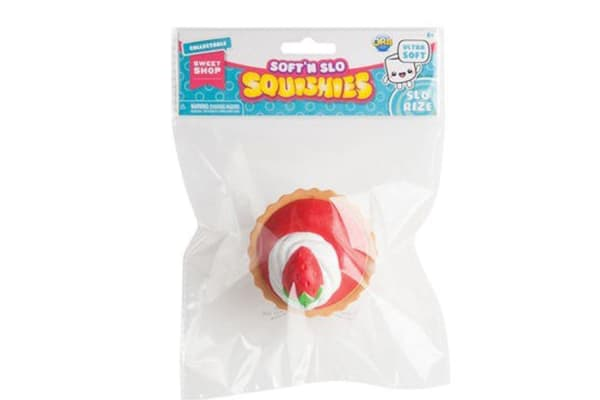 Soft 'n Slo Squishies Mega Sweet Shop Strawberry Tart