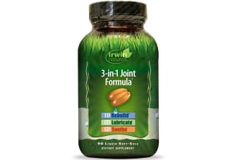 Irwin Naturals 3-in-1 Joint Formula - 90 Liquid Soft-Gels