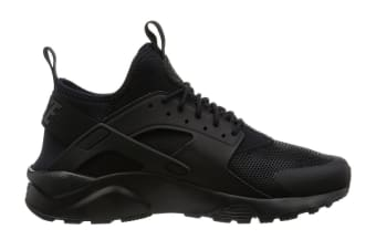 Nike Men's Air Huarache Run Ultra Running Shoe (Black/Black, Size 7.5)