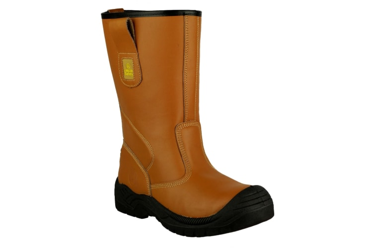 Amblers Safety FS142 Safety Rigger Boot / Mens Boots (Tan) (3 UK)