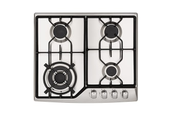 Arc 60cm Gas Cooktop - Silver (CD6SG1)