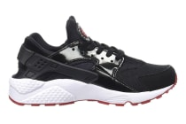 Nike Men's Air Huarache Running Shoe (Black/Gym Red)