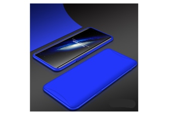 Frosted Shield Matte Plastic Ultra Thin Shockproof Case For Oppo Blue A79