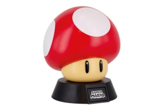 Super Mario Power-Up Mushroom Battery-Operated 3D Light | Nintendo