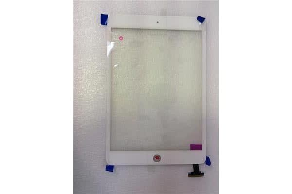 OEM iPad Mini Touch Screen Digitizer (White) Without  IC(without tape)