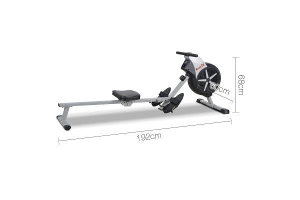 Rowing Machine with Air Resistance System