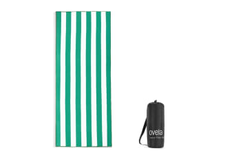 Ovela Sand Free Beach Towel (Green)
