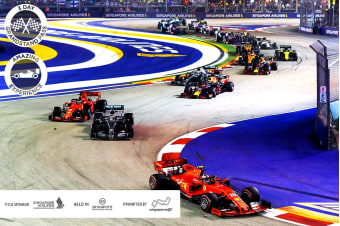 SINGAPORE: 5 Day Singapore 2020 Grand Prix™ Package for Two (Grand Pacific Hotel)