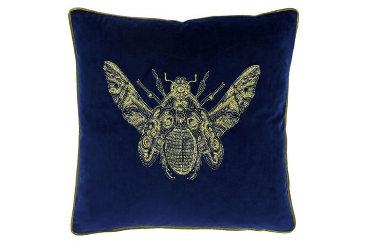 Paoletti Cerana Cushion Cover (Royal Blue) (One Size)