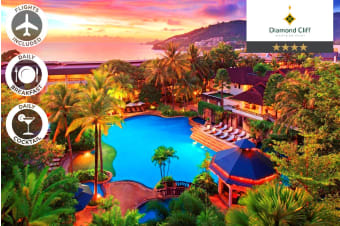 PHUKET: 6 Nights at Diamond Cliff Resort & Spa Including Flights for Two