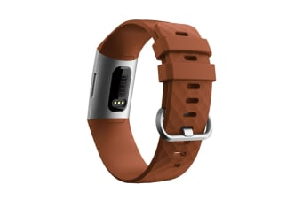 Replacement Silicone Fitbit Charge 3 Band, Sport Wrist Strap for The Fitbit Charge 3  L