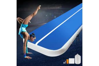Everfit 8M Airtrack Inflatable Air Track Tumbling Floor Mat Home Gymnastics Gym