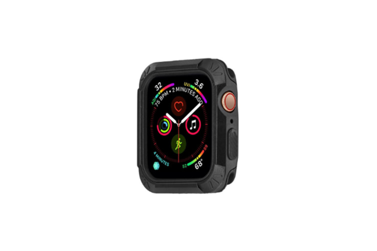 2 In 1 Lightweight Protective Protector Bumper Watch Case 44Mm 40Mm Iwatch Series 4 Black 44Mm