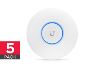 5-Pack Ubiquiti UniFi Wave 2 Dual Band 802.11ac High Density (UAP-AC-HD-5)