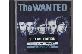 The Wanted (5) – The Wanted BRAND NEW SEALED MUSIC ALBUM CD - AU STOCK
