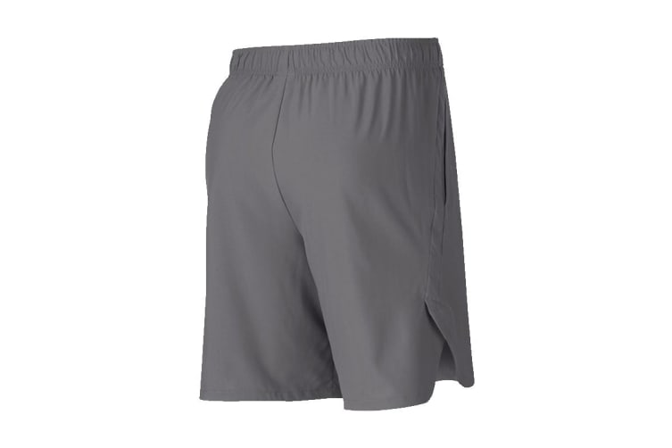 Nike Flex Woven Men's Training Shorts (Gunsmoke/Black, Size XL)