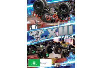 Monster Jam World Finals 2012 XIII DVD Region 4