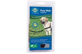 Gentle Leader Ewalk Harness Black - Medium-large