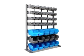 Giantz 47 Bin Storage Rack Shelving Workshop Garage Warehouse Tools Organiser