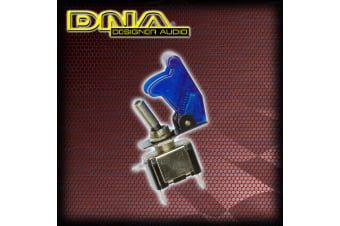 Dna 1 X Blue Missile Switch  Led Toggle 12V 12 Volt On Off Toggle 4wd Race Ats023