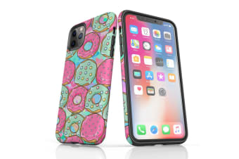 For iPhone 11 Pro Max Shielding Back Case  Donuts