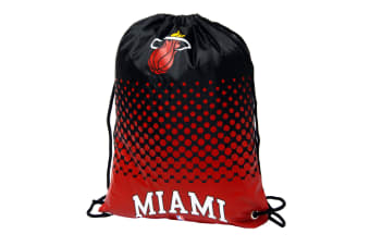 NBA Miami Heat Official Fade Gym Bag (Red/Black) (One Size)