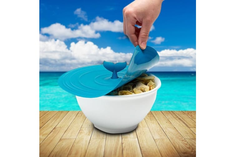 Moby Whale Silicone Pot Lid