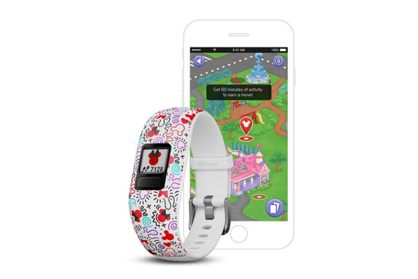 Garmin Vivofit Jr. 2 (Adjustable, Disney Minnie Mouse)