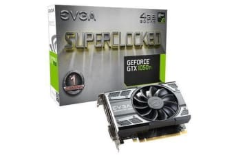 EVGA GeForce GTX1050TI SC 4GB Graphics Card 3 Years Warranty