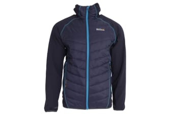 Regatta Great Outdoors Mens Arec Wind Resistant Hooded Jacket (Navy)