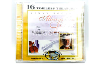 Always in Love by Kenny Rogers (2000, Madacy) 16 Timeless Treasures NEW SEALED