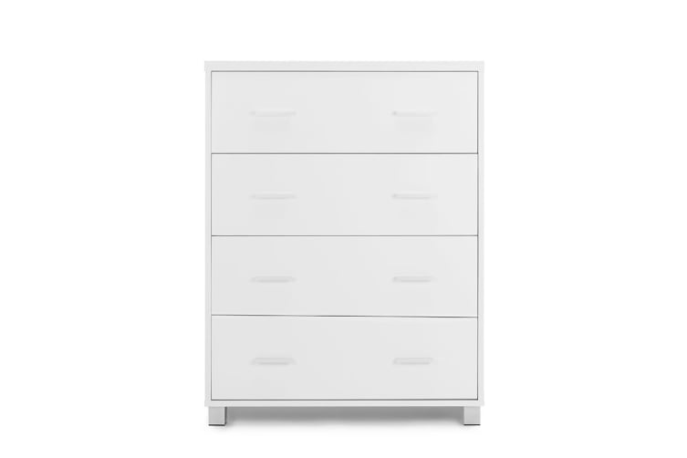 Ovela Chest of 4 Drawers - Oxford Collection (White)