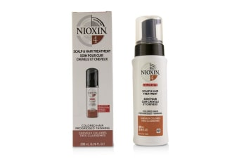 Nioxin Diameter System 4 Scalp & Hair Treatment (Colored Hair  Progressed Thinning  Color Safe) 200ml/6.76oz