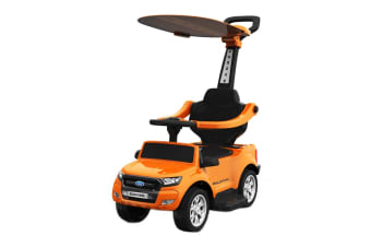 Ford Ranger Ride-On Kids Car Stroller (Orange)