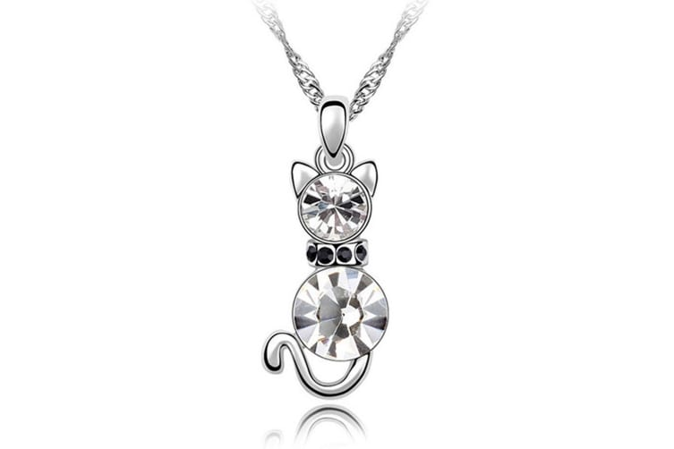 Classic Cat Embellished with Swarovski crystals