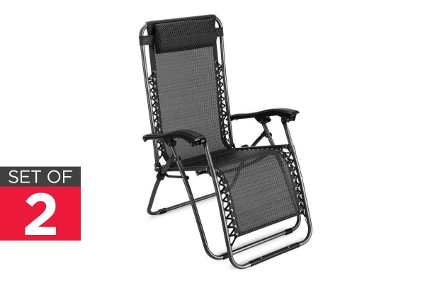 2 Pack Zero Gravity Lounge Chair