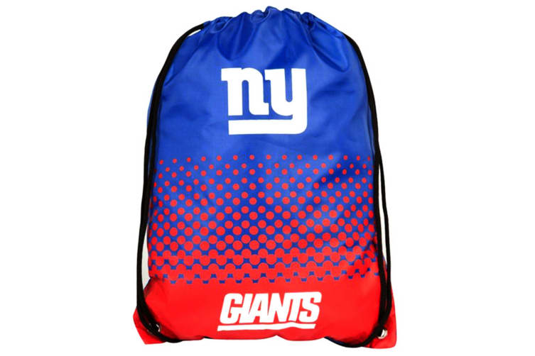 NFL New York Giants Official Fade Gym Bag (Blue/Red) (One Size)