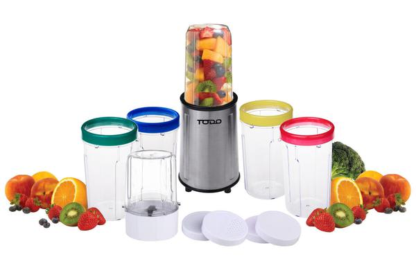Stainless Steel Bullet Nutrition Blender Magic Smoothie Maker Drink Mixer Silver