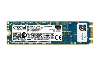Crucial MX500 500GB M.2 Type 2280 Internal SSD (CT500MX500SSD4)