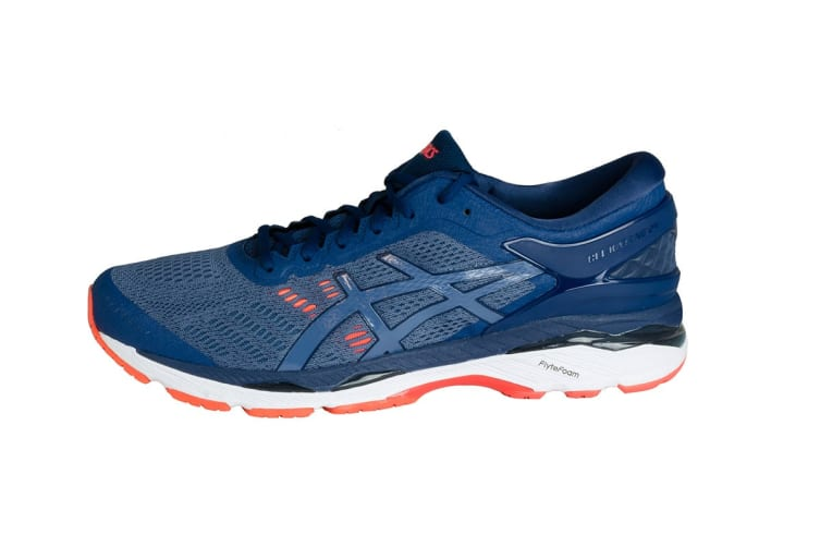 ASICS Men's Gel-Kayano 24 Running Shoe (Smoke Blue/Smoke Blue/Dark Blue, Size 8)